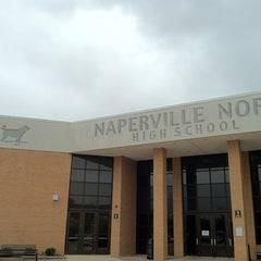 Photo taken at Naperville North High School by UNC Admissions on 10/18/2012
