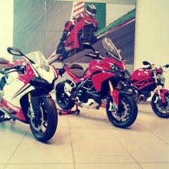 Photo taken at Ducati Motor Factory & Museum by Ryan H. on 9/28/2012