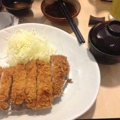 Photo taken at Katsu King X (คัตสึ คิง เอ็กซ์) by Nationn M. on 10/2/2015
