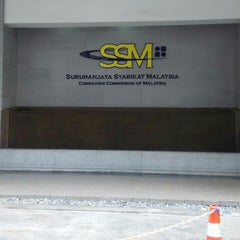 Photo taken at Menara Suruhanjaya Syarikat Malaysia (SSM) by Nadhirah M. on 9/25/2015