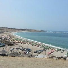 Photo taken at Playa El Silencio by Frank M. on 1/5/2013