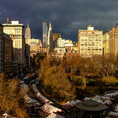 Photo taken at Union Square Holiday Market by New York Habitat on 12/24/2012