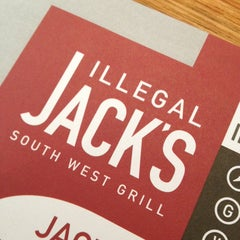 Photo taken at Illegal Jack's South West Grill by Steven S. on 4/4/2013