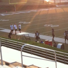 Photo taken at North Forsyth High School by Debbie on 10/3/2013