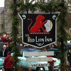 Photo taken at Red Lion Inn by Jennifer S. on 12/2/2012