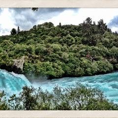 Photo taken at Huka Falls by El P. on 12/30/2012