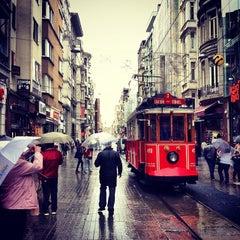 Photo taken at İstiklal Caddesi by burak d. on 11/7/2013