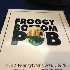 Photo taken at Froggy Bottom Pub by Michelle G. on 3/21/2013