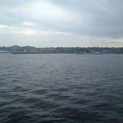 Photo taken at On the Cross Sound Ferry: Orient - New London by Nancy W. on 6/16/2013