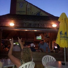 Photo taken at Ocean Annie's Beach Bar by Kimberly A. on 8/11/2013