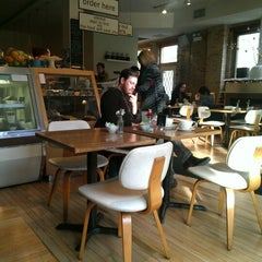 Photo taken at Milk & Honey Café by Marizza R. on 11/25/2012