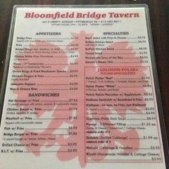 Photo taken at Bloomfield Bridge Tavern by Eddie W. on 8/17/2013