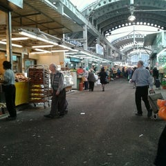 Photo taken at Petach Tikva Market (שוק פתח תקוה) by Jennifer T. on 1/22/2013