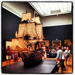 Photo taken at Rijksmuseum by Patrick D. on 7/27/2013