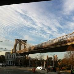 Photo taken at Under The Brooklyn Bridge by Reinaldo D. on 11/23/2012