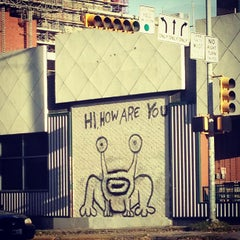 Photo taken at Hi How Are You? Mural by Kevin S. on 3/6/2013