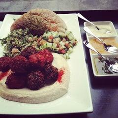 Photo taken at Taïm Falafel and Smoothie Bar by Robert B. on 3/2/2013
