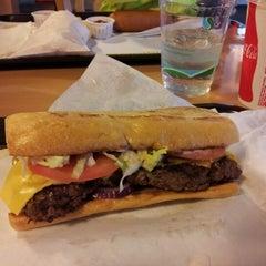 Photo taken at Tom's Burger & Frosty by Alex G. on 1/20/2013