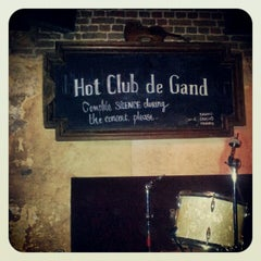 Photo taken at Hot Club de Gand by Wim V. on 12/29/2012
