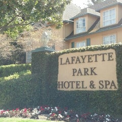 Photo taken at Lafayette Park Hotel & Spa by Bill G. on 5/21/2013