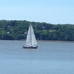 Photo taken at Dobbs Ferry Waterfront Park by Jeffrey P. on 5/20/2012