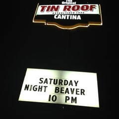 Photo taken at Tin Roof Cantina by Stacey S. on 9/30/2012