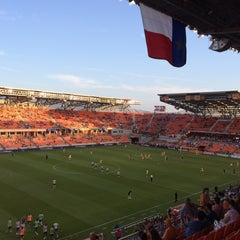 Photo taken at BBVA Compass Stadium by Marco C. on 4/26/2015