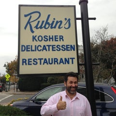Photo taken at Rubin's Kosher Delicatessen by Phil R. on 10/24/2012