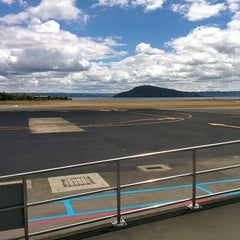 Photo taken at Rotorua International Airport (ROT) by Damien C. on 1/29/2015