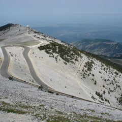 Photo taken at Mont Ventoux by Robin B. on 11/29/2012