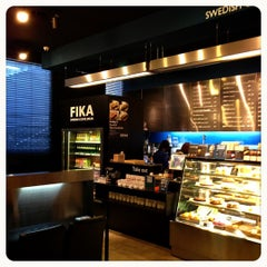 Photo taken at FIKA Swedish Coffee Break by Skywalkerstyle on 11/9/2012