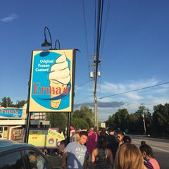 Photo taken at Erma's Frozen Custard by Constance P. on 7/20/2015