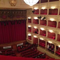 Photo taken at Teatre Principal by Cristina G. on 3/8/2014