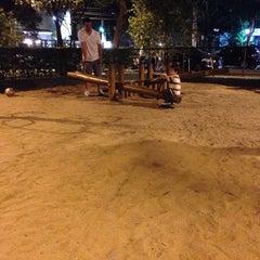 Photo taken at Playground by Moni P. on 8/2/2014