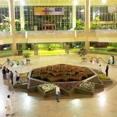 Photo taken at King Fahd International Airport (DMM) مطار الملك فهد الدولي by Faisal a. on 10/24/2012