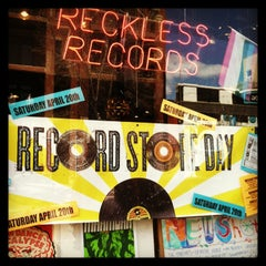Photo taken at Reckless Records by Wicker Park Bucktown Insider on 4/20/2013