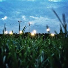 Photo taken at Parc Marcelin-Wilson by Oscar K. on 7/24/2013