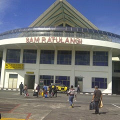 Photo taken at Sam Ratulangi International Airport (MDC) by Jonas L. on 11/22/2012