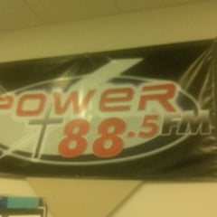 Photo taken at Power 88 FM by Kenny F. on 3/4/2013