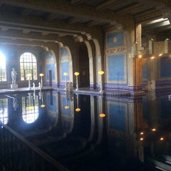 Photo taken at Hearst Castle Roman Pool by Callan J. on 2/15/2014