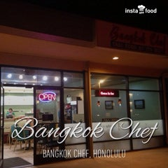 Photo taken at Bangkok Chef by Michael C. on 4/4/2013