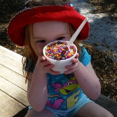 Photo taken at The Salty Dog Ice Cream Shop by Jason W. on 4/9/2015