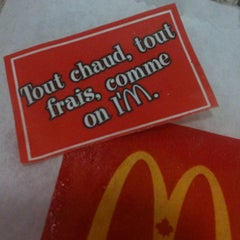 Photo taken at McDonald's by François R. on 11/24/2012