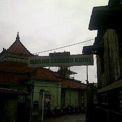 Photo taken at Masjid Lawang Kidul by Hendra F. on 10/18/2013