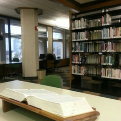 Photo taken at Faulk Central Library, Austin Public Library by Erick R. on 11/4/2015