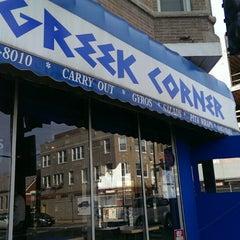 Photo taken at Greek Corner Restaurant by Jesse B. on 9/21/2014