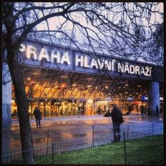 Photo taken at Praha hlavní nádraží | Prague Main Railway Station by Kateřina V. on 1/3/2013