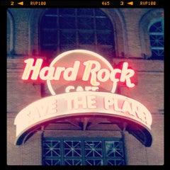 Photo taken at Hard Rock Cafe Baltimore by Jim H. on 4/20/2013