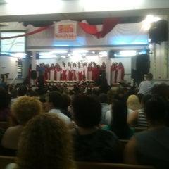 Photo taken at Assembleia de Deus - Madureira by Ronaldo F. on 12/8/2012