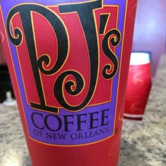 Photo taken at PJ's Coffee by Beth C. on 2/28/2015
